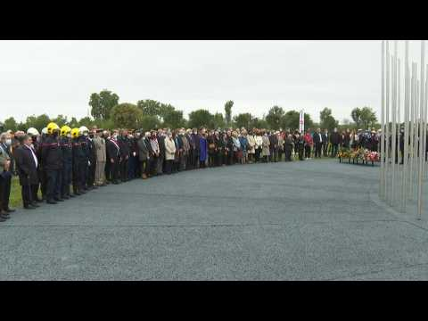 20 years after fatal explosion, tribute held at French chemical plant AZF
