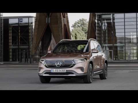 The new Mercedes-Benz EQB Exterior Design