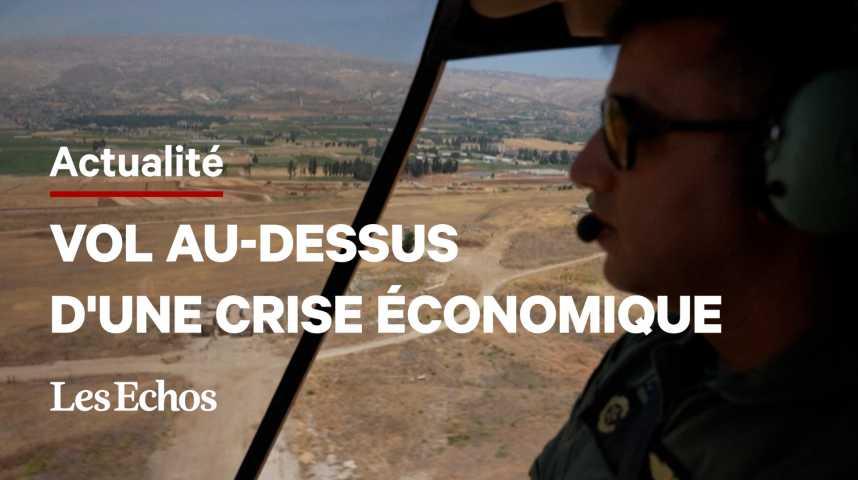 Illustration pour la vidéo Au Liban, l'armée organise des survols touristiques pour renflouer son budget