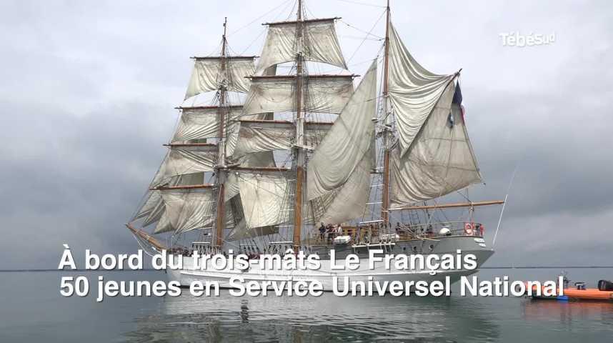 Thumbnail Morbihan : embarquement pour le Service National Universel