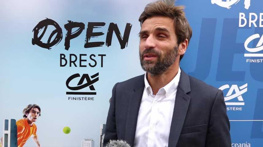 Thumbnail Arnaud Clément, nouveau directeur de l'Open de Tennis de Brest