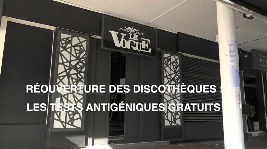Thumbnail Réouverture des discothèques : les tests antigéniques gratuits