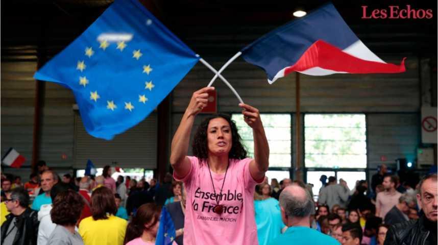 """Illustration pour la vidéo Plusieurs organisations patronales soumettent à Macron un """"Pacte européen"""""""