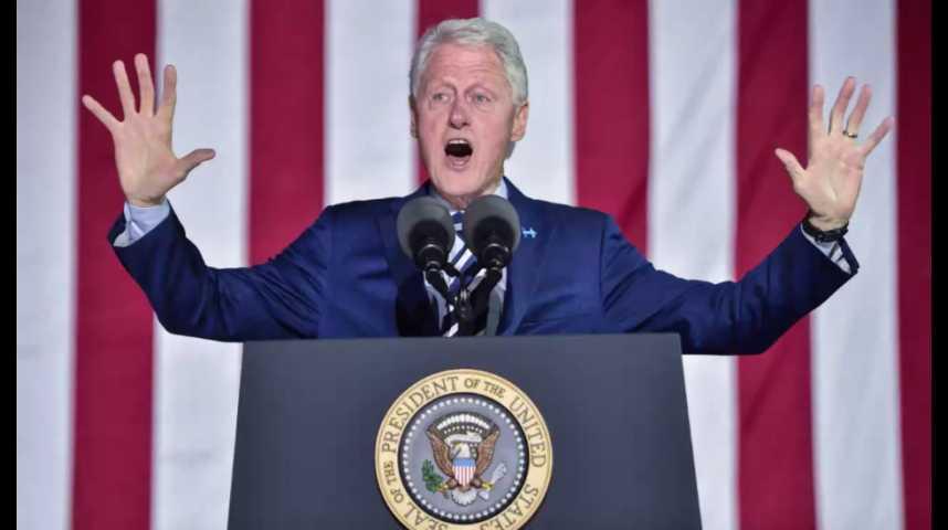 Illustration pour la vidéo Bill Clinton se lance dans la littérature