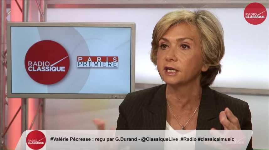 """Illustration pour la vidéo """"Les réformes que propose Macron n'ont pas assez d'audace pour transformer la France"""" Valérie Pécresse (08/05/2017)"""