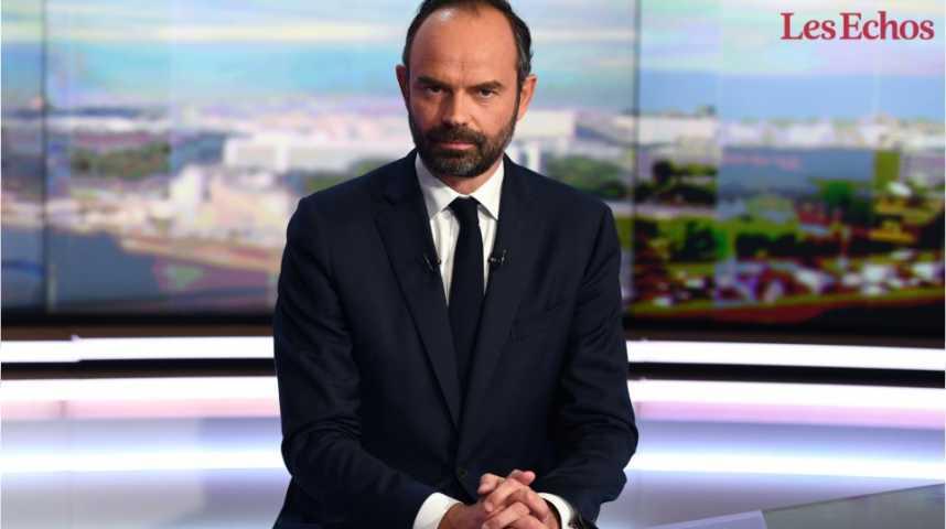 """Illustration pour la vidéo Edouard Philippe : """"Plus que le parti, il y a le pays"""""""
