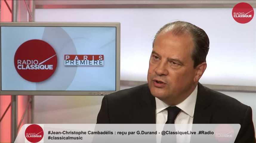 Illustration pour la vidéo « Le Parti Socialiste n'est pas réductible à sa représentation parlementaire » Jean-Christophe Cambadélis (24/05/2017)