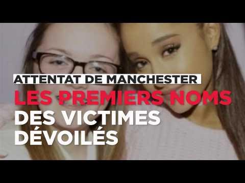 Les premiers noms des victimes de l'attentat de Manchester ont été dévoilés