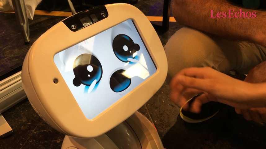 Illustration pour la vidéo Buddy, le robot familial 100% made in France