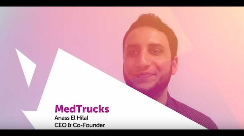 Illustration pour la vidéo Viva Technology - Orange présente MedTrucks : la start-up sociale qui lutte contre les déserts médicaux