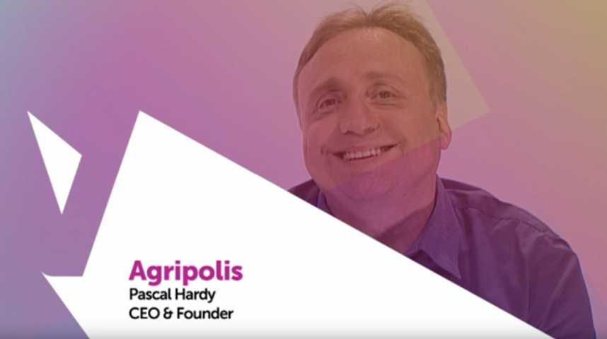 Illustration pour la vidéo Viva Technology - Carrefour présente Agripolis, la startup qui révolutionne l'agriculture urbaine
