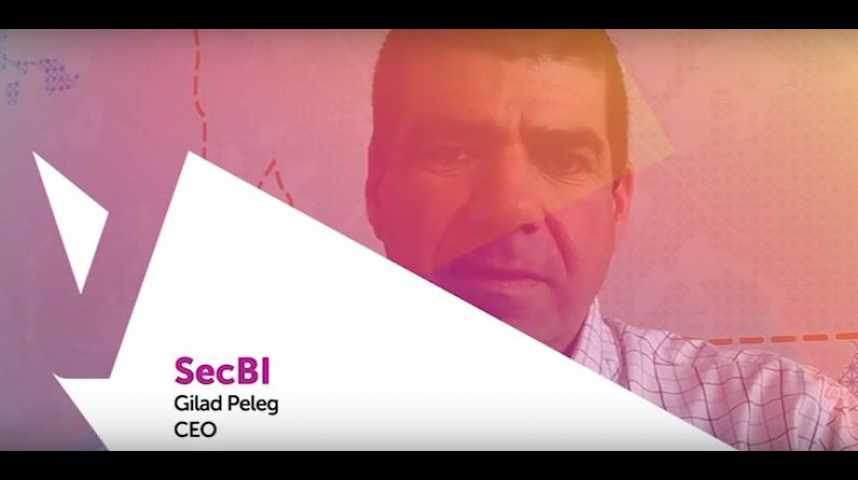 Illustration pour la vidéo Viva Technology - Orange présente SecBI, bouclier intelligent contre les cyberattaques