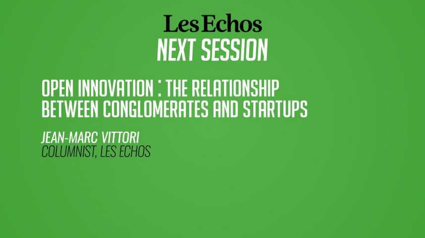 Illustration pour la vidéo L'open innovation : les relations entre les grands groupes et les startups