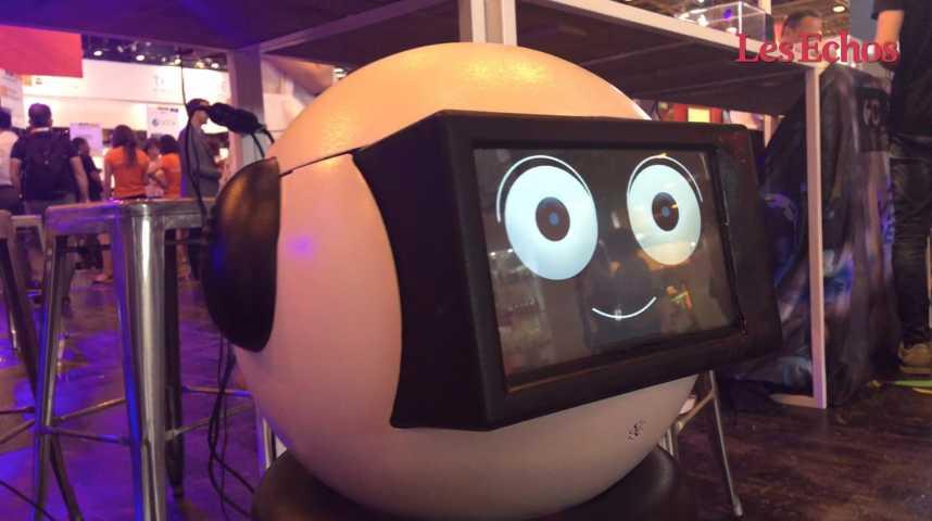 Illustration pour la vidéo Dumy, un robot pour les seniors