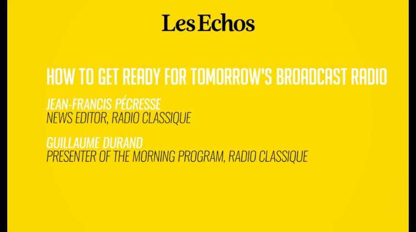 Illustration pour la vidéo Comment se prépare la radio de demain ?
