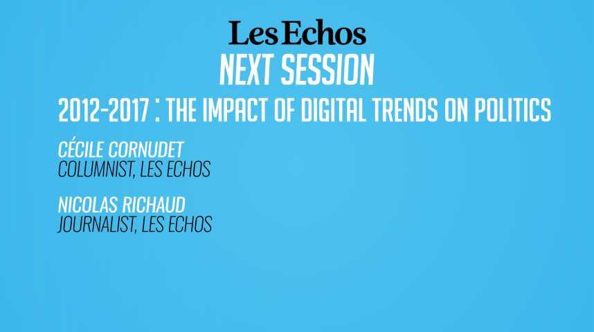 Illustration pour la vidéo 2012-2017 : comment le numérique bouleverse la vie politique ?