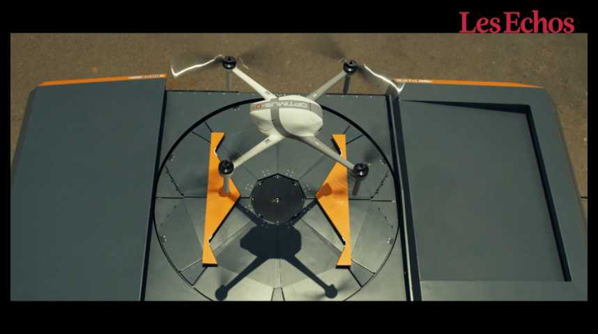 Illustration pour la vidéo Airobotics : le drone piloté par un robot