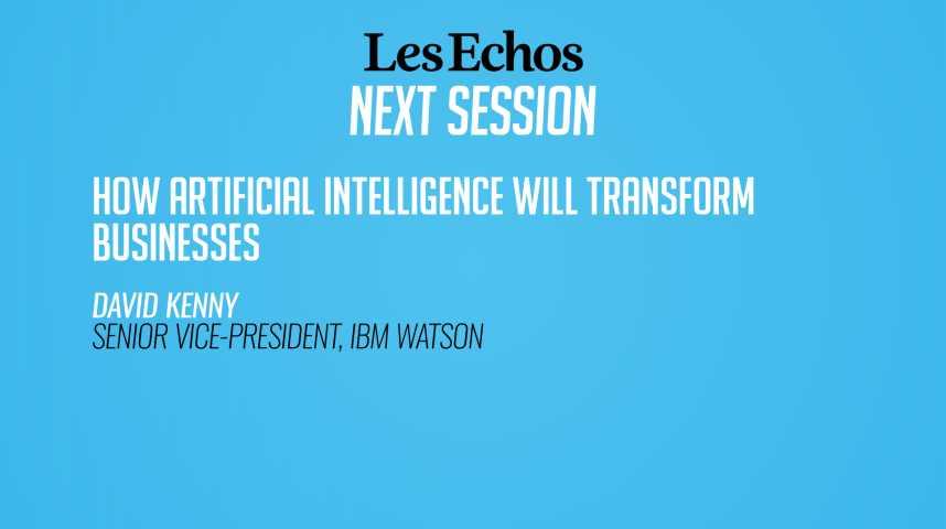 Illustration pour la vidéo Comment l'intelligence artificielle transforme les entreprises