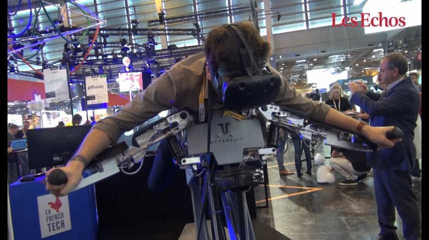 Illustration pour la vidéo Hypersuit veut mêler sport et jeu en réalité virtuelle