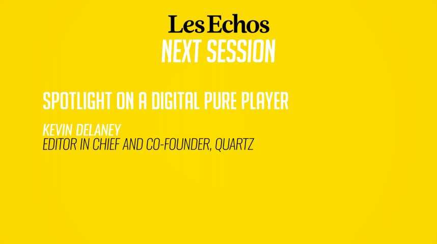 Illustration pour la vidéo Focus sur Quartz, un pure player du numérique