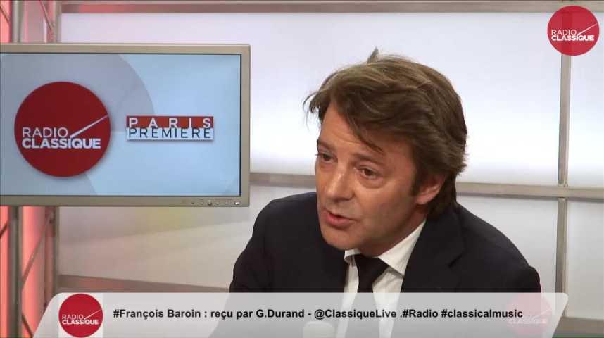"""Illustration pour la vidéo """"La décision de Trump est lamentable et irresponsable"""" François Barouin (02/06/2017)"""