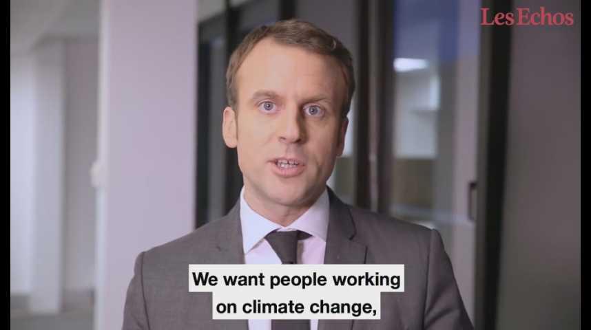 Illustration pour la vidéo Appel aux chercheurs américains : la récidive de Macron