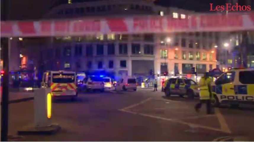 Illustration pour la vidéo Londres frappée par une attaque terroriste, moins de 15 jours après Manchester