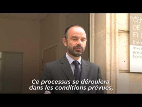 """Edouard Philippe : """"Sécurité renforcée"""" pour les élections après les attaques de Londres"""