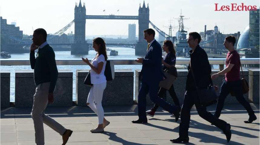 Illustration pour la vidéo Emploi et salaires: situation inédite au Royaume-Uni
