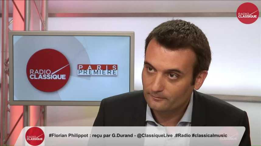 """Illustration pour la vidéo """"Je pense que Marine Le Pen va se faire brillament élire dans sa circonscription"""" Florian Philippot (08/06/2017)"""