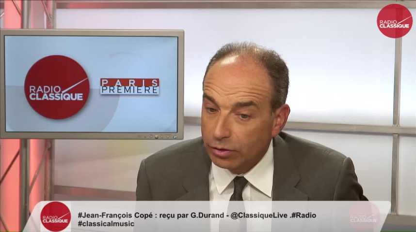 Illustration pour la vidéo « Il y a une forme d'imposture par rapport à la réalité des candidatures En Marche » Jean-François Copé (13/06/2017)