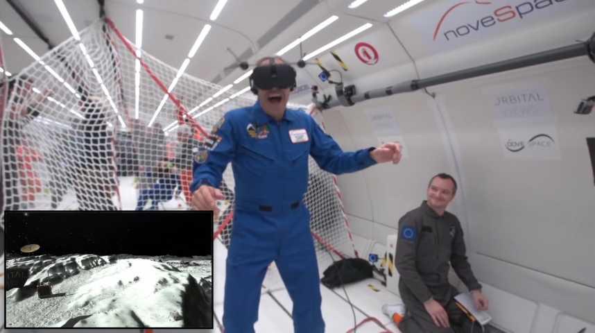 Illustration pour la vidéo Quand la VR démocratise l'accès à l'espace