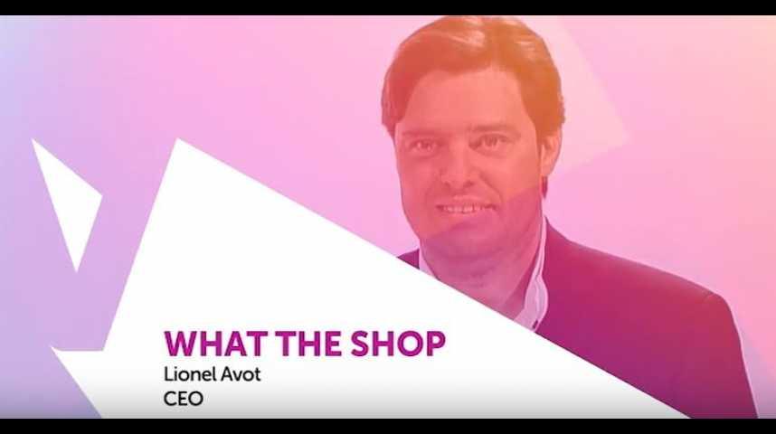 Illustration pour la vidéo Viva Technology - Le Groupe TF1 présente What The Shop : des outils digitaux pour le retail