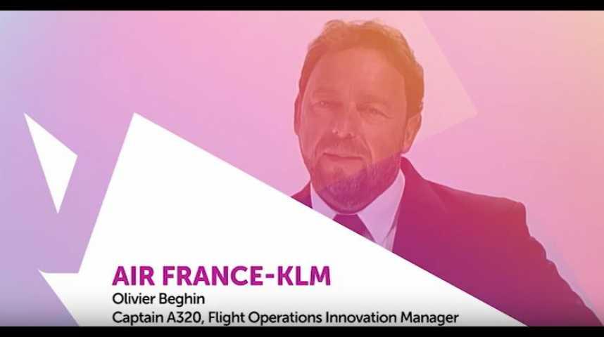 Illustration pour la vidéo Viva Technology - AIR FRANCE – KLM, réinventer en permanence l'avenir du voyage