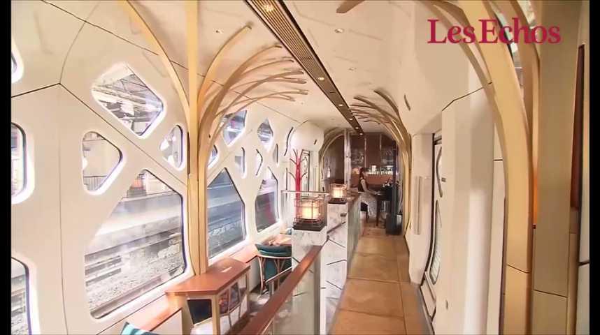 Illustration pour la vidéo Montez à bord du train le plus luxueux du monde au Japon