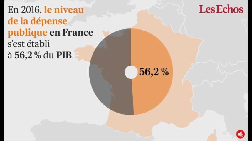 Illustration pour la vidéo La France championne d'Europe des dépenses publiques