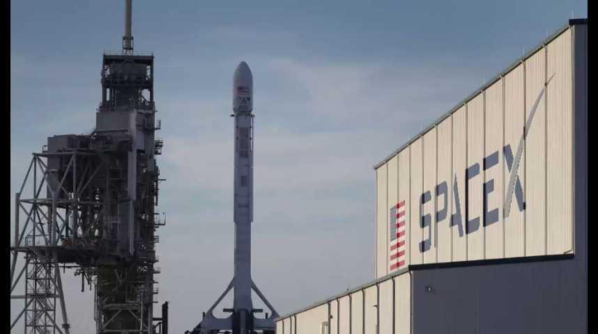 Illustration pour la vidéo SpaceX lance son premier cargo secret-défense pour le gouvernement américain