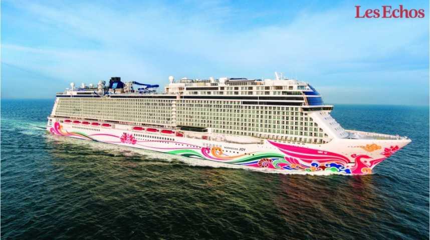Illustration pour la vidéo A bord du «Norwegian Joy», un navire dédié aux chinois
