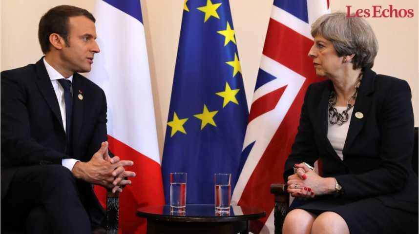 Illustration pour la vidéo Emmanuel Macron entame au pas de charge son premier sommet du G7