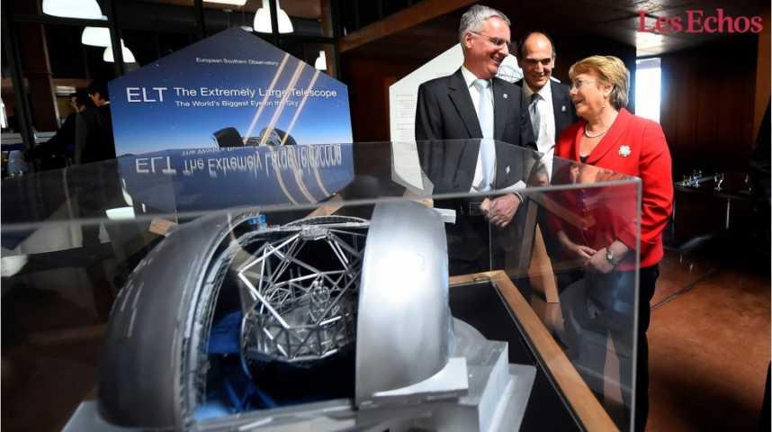 Illustration pour la vidéo Chili : le plus grand télescope du monde sera européen