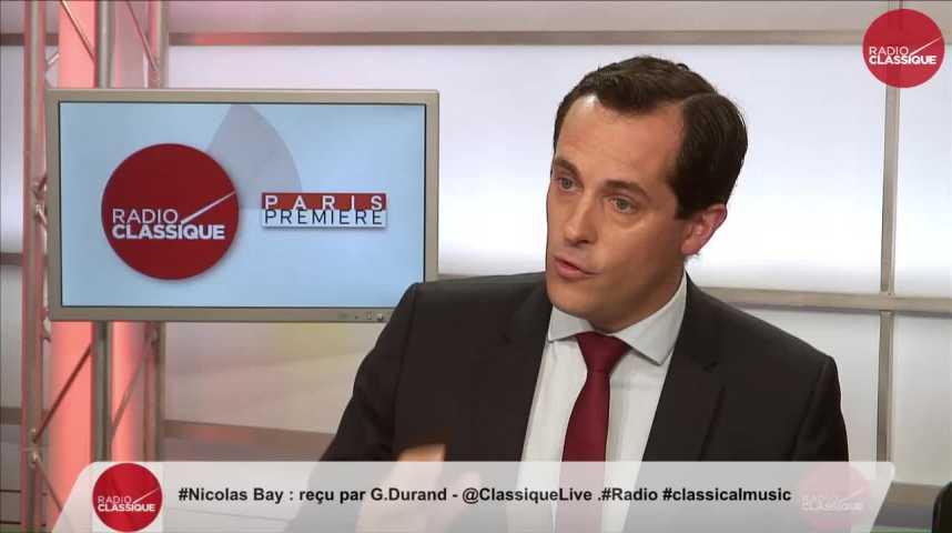 Illustration pour la vidéo « La loi sur la moralisation me fait penser à la « République irréprochable » de François Hollande » Nicolas Bay (29/05/17)