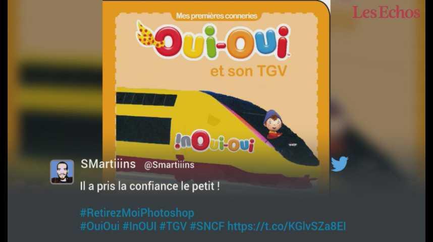 Illustration pour la vidéo inOui ! La SNCF rebaptise ses TGV… et fait bien rire Internet