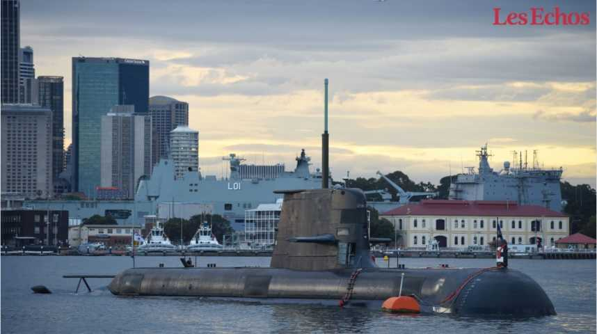Illustration pour la vidéo La France enquête sur la vente de quatre sous-marins au Brésil