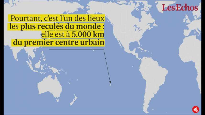Illustration pour la vidéo L'île aux 38 millions de morceaux de plastique