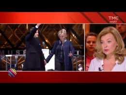 """Valérie Trierweiler : """"Brigitte et Emmanuel Macron forment un couple très soudé"""""""