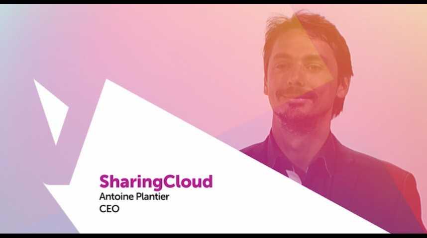 Illustration pour la vidéo Viva Technology - Cisco présente SharingCloud, la startup qui aide les entreprises à digitaliser leurs espaces de travail
