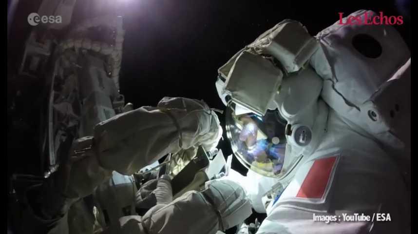 Illustration pour la vidéo Thomas Pesquet : retour sur les moments marquants à bord de l'ISS