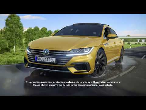 The assistance systems of the Volkswagen Arteon - Proactive occupant protection system | AutoMotoTV
