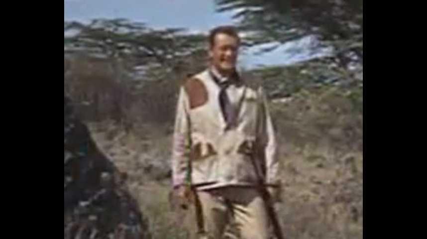 Hatari! - bande annonce - VO - (1962)