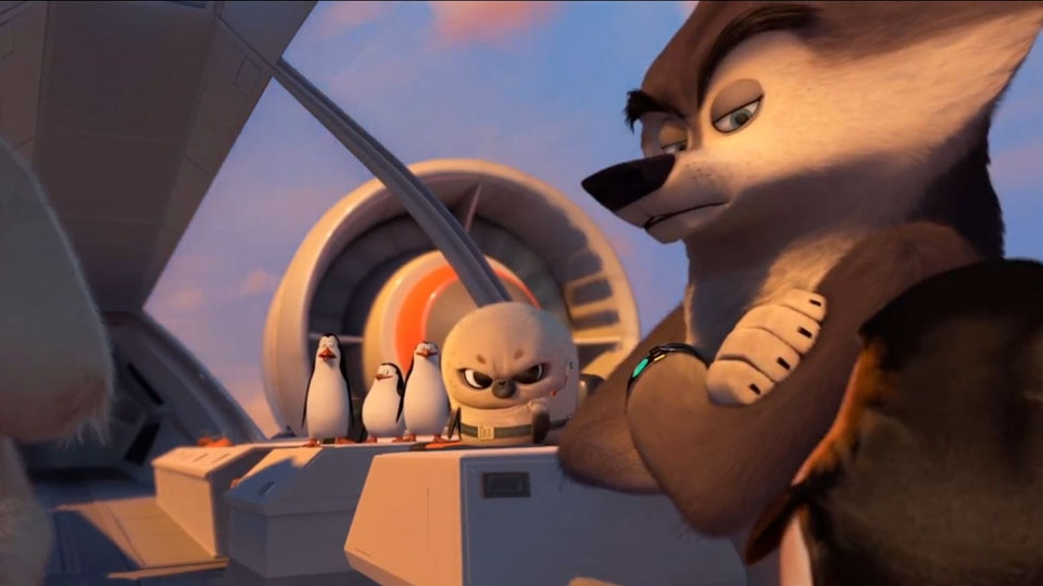 Les Pingouins de Madagascar - teaser 3 - VOST - (2014)